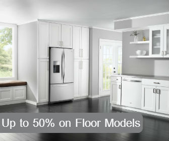 save on floor models